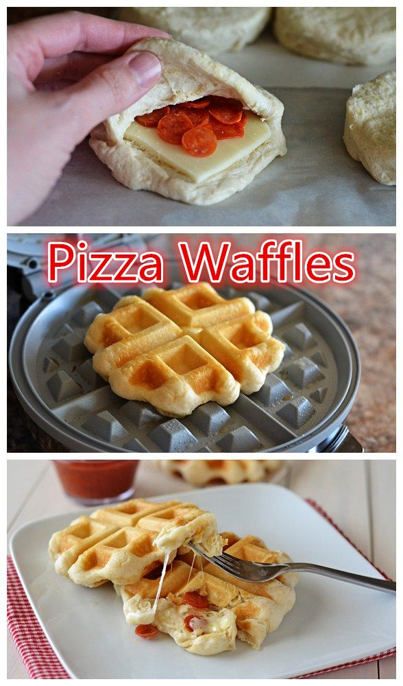Pizza Waffles! 2 in 1 !!!