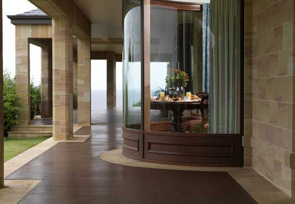 $20 million WA resort is basically paradise I love the decking within the tiles.