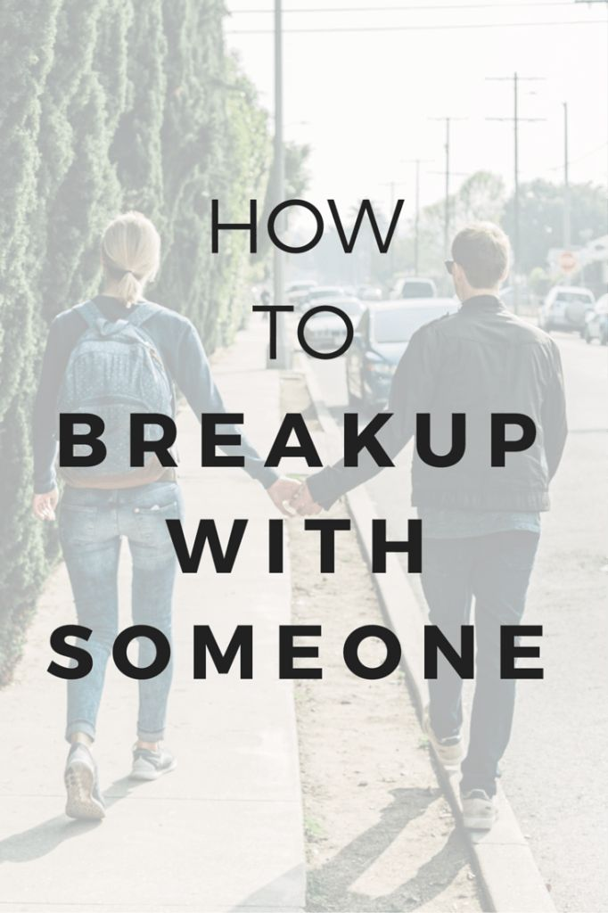 Break-ups are hard, no matter who's doing the heartbreaking. When you're breaking up with someone, you always want to remain in the driver's seat, emotionally. Otherwise, you risk being hijacked and not following through one way or the other. It's also important to stay gentle and sensitive during this time while setting clear boundaries for your own self-preservation. Here is a game-plan for how to break-up with someone.