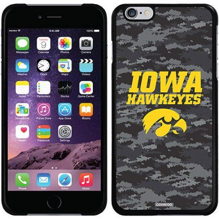 Iowa Dark Camo Design on Apple iPhone 6 Plus Thinshield Snap-on Case