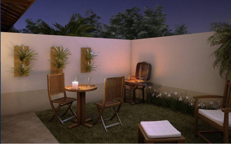 Quintal. http://decorandocasas.com.br