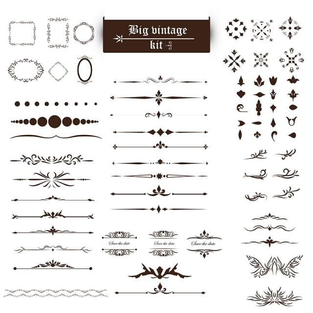 Vintage Ornaments Vintage Ornament Ornaments Png And Vector With Transparent Background For Free Download Vintage Ornaments Ornament Kit Decoracion Vintage