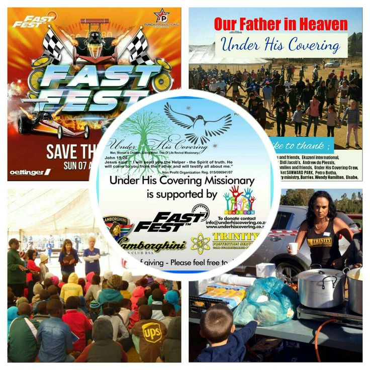 Under his Covering : next event : children of Courage