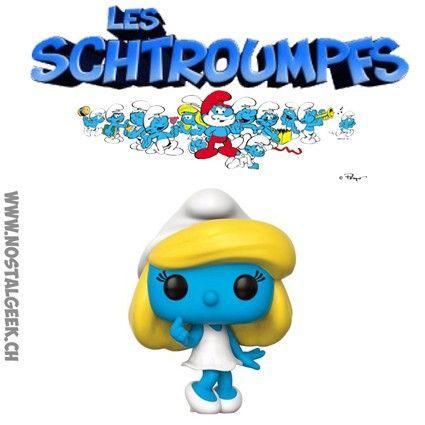 Figurine Funko Pop Schtroumpfs Schtroumpfette geek suisse shop noel
