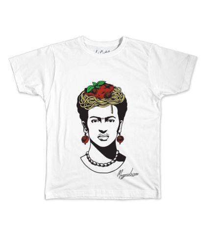 Le Cartel - T-shirt Fridaghetti Frida by Mariana Mazza