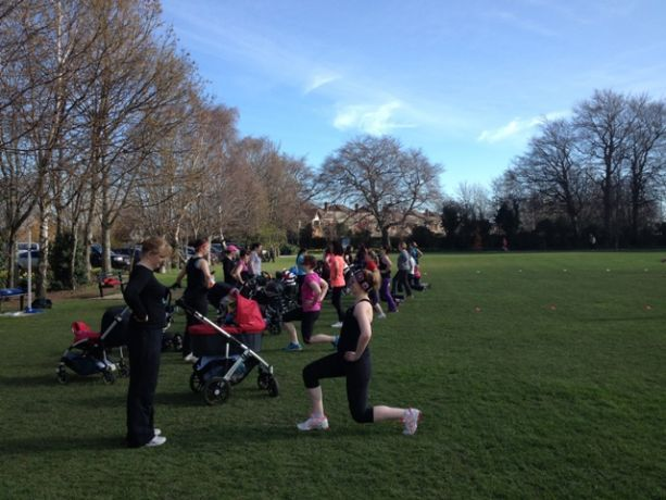 Back in the Park - Mummy Bootcamp - Spring Week