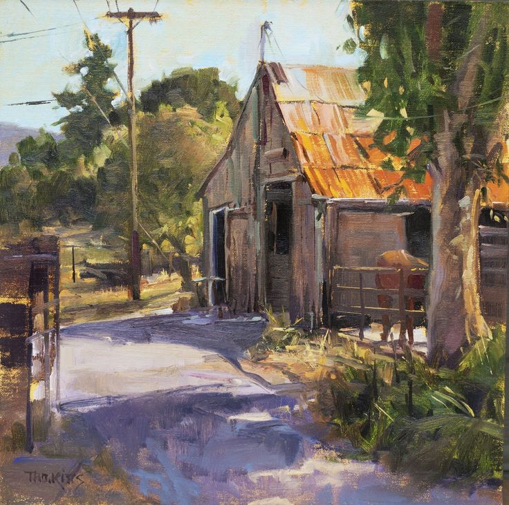 California Idyl Thomas Jefferson Kitts Art Cottages