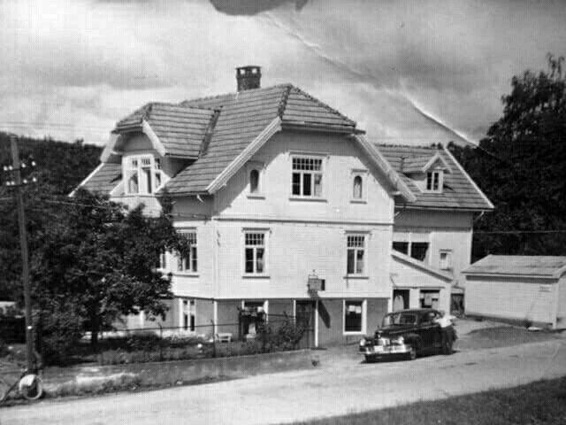 Kiosk i Vennesla, 1950 tallet