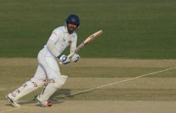 Kumar Sangakkara became the leading century-maker among active Test players as Sri Lanka bounced back strongly