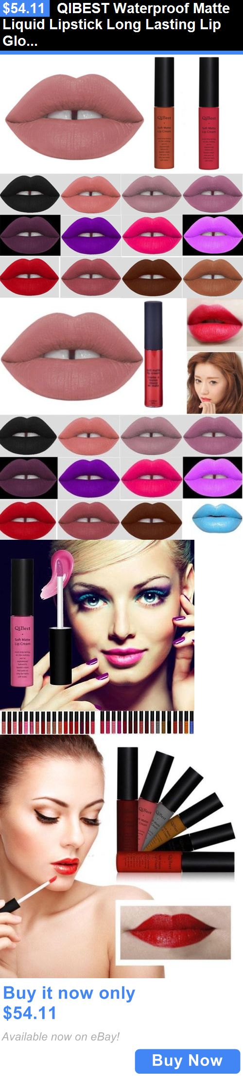 Beauty Makeup: Qibest Waterproof Matte Liquid Lipstick Long Lasting Lip Gloss Lipstick Beauty BUY IT NOW ONLY: $54.11