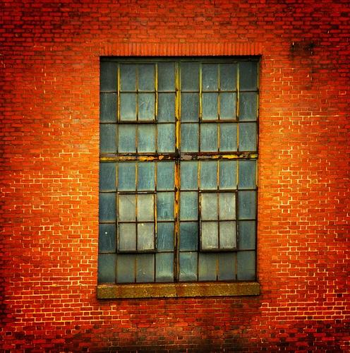 Industrial Window by Lot49, via Flickr