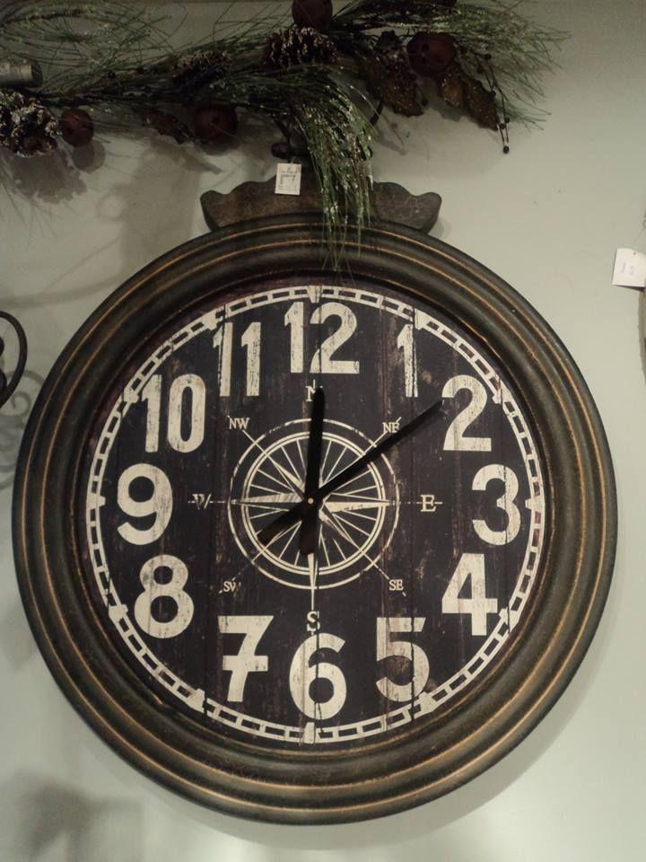 horloge en fer, rustique,  Le jardin d'Andrée-Anne, www.lejardin.ca