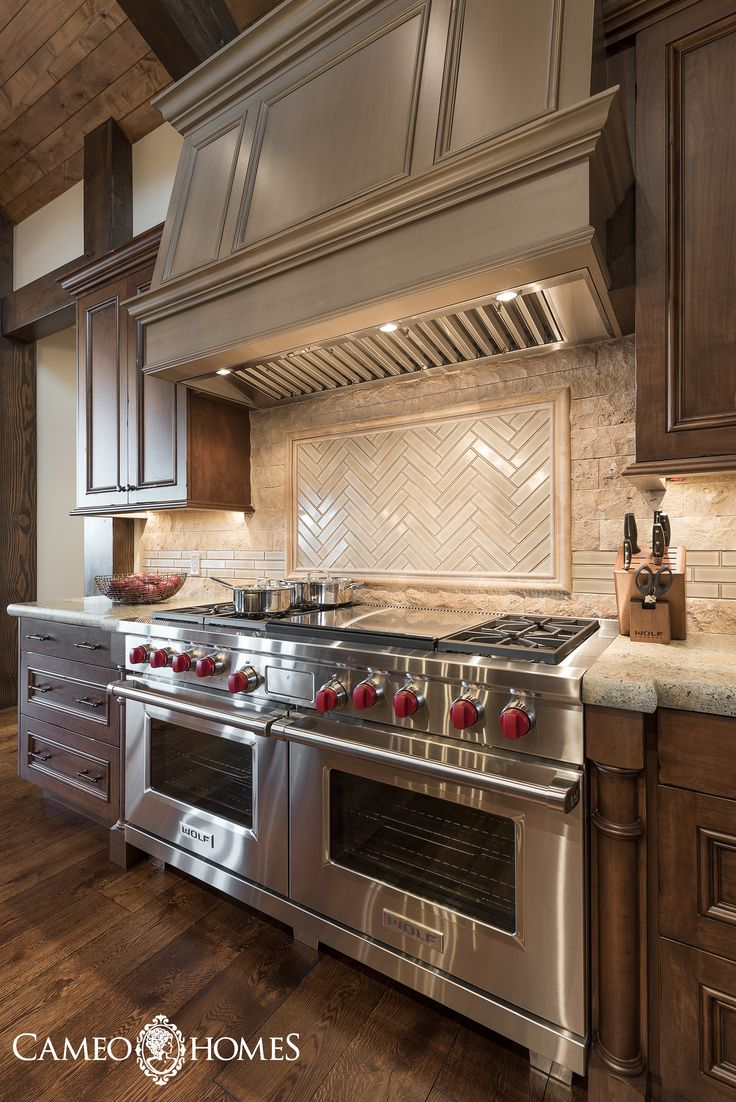 Absolutely Stunning Kitchen With Sub Zero Wolf Appliances Park City Home Builders