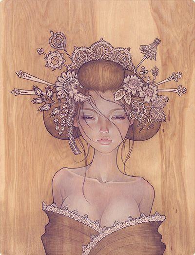 Audrey Kawasaki- one of my favorite piece