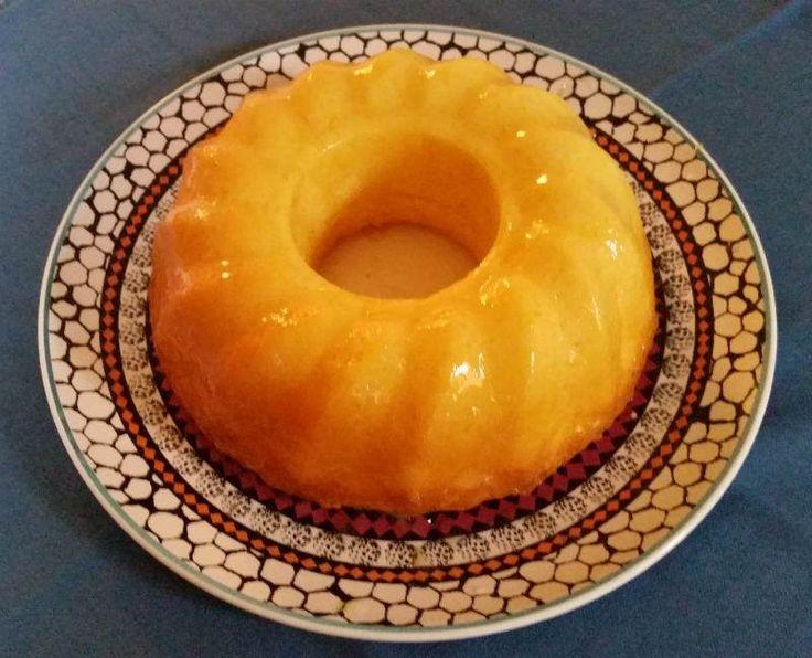 Limonlu Nişastalı Kek (Unsuz)                        -  Fügen Büke #yemekmutfak