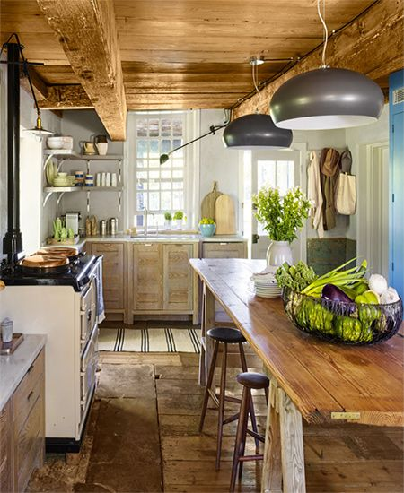 Cottage Kitchen Flooring Continued: Cottage Kitchen Ovens, English Cottage Kitchens