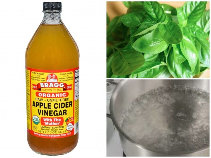 how to clean braids with apple cider vinegar