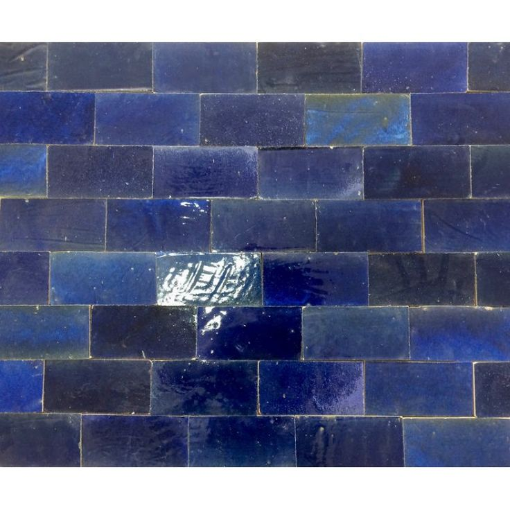 Zellige Tile Cloudy Blue 15cm x 7.5cm