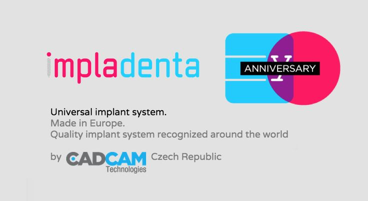Impladenta - universal implant system made in Europe. Since 1985