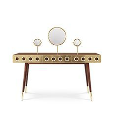 Monocles Dressing Table | Essential Home | Mid Century Furniture