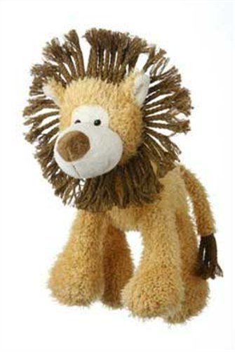 Multipet's Mane Event 11-Inch Lion Plush Dog Toy Multipet