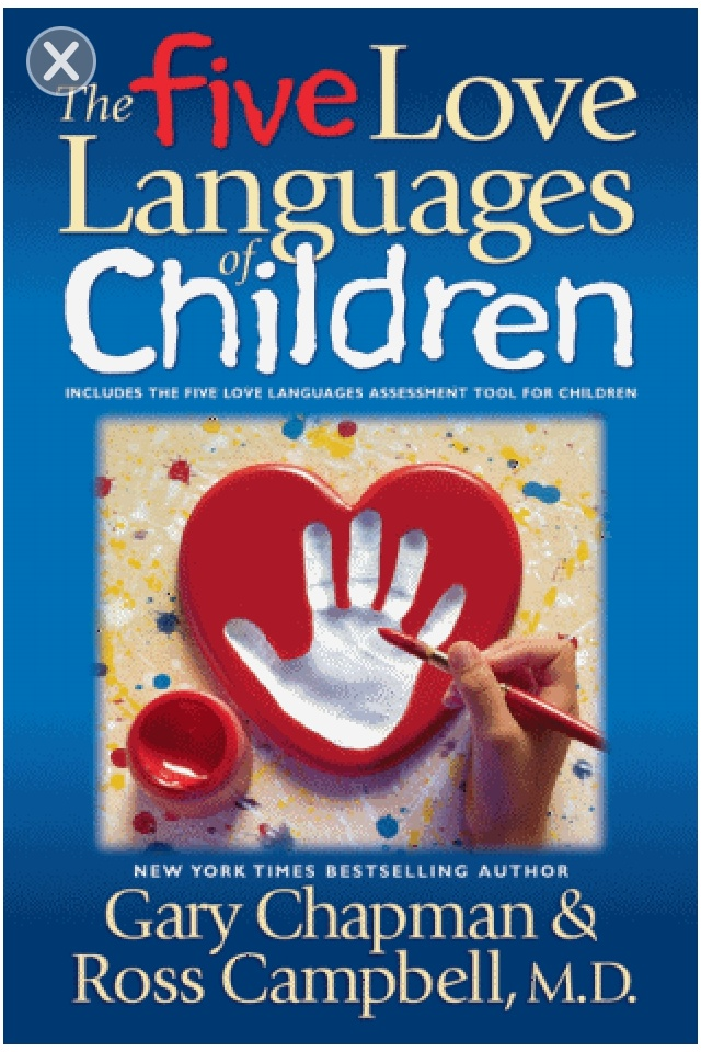 5 Love Languages For Children.