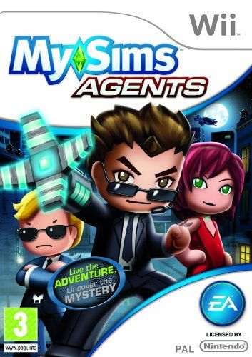 From 0.25 Mysims Agents (nintendo Wii)