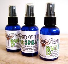 Another pinner said: DIY bug spray- repinned this once but doing it again because I tried this and and am happy with results! The oils I used were citronella, lemongrass, and a little tea tree. I don't know about other bugs, but helped with mosquitos.  Happy to not be spraying the DEET!  Tea tree is supposed to help with chiggers and ticks- but I have only tested on the patio for mosquitos.