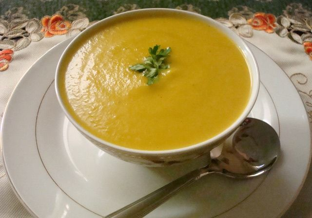 Your Whole Family Will Love This Moroccan Vegetable Puree Soup: Moroccan Vegetable Purée Soup