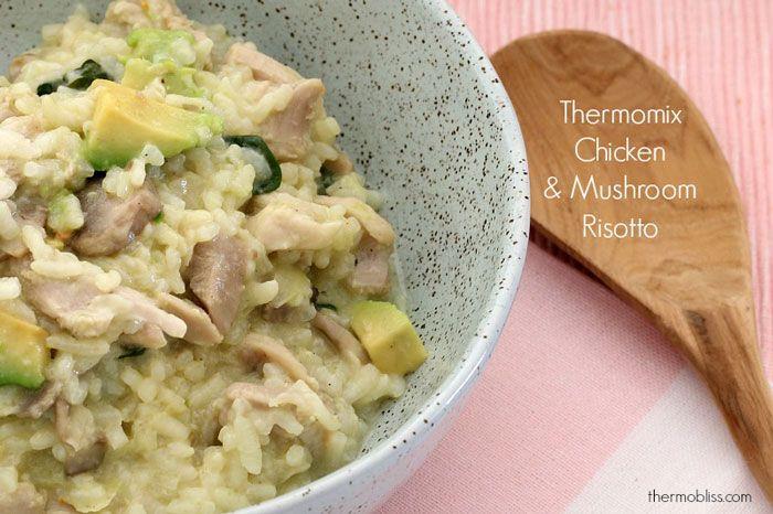 Thermomix Chicken & Mushroom Risotto
