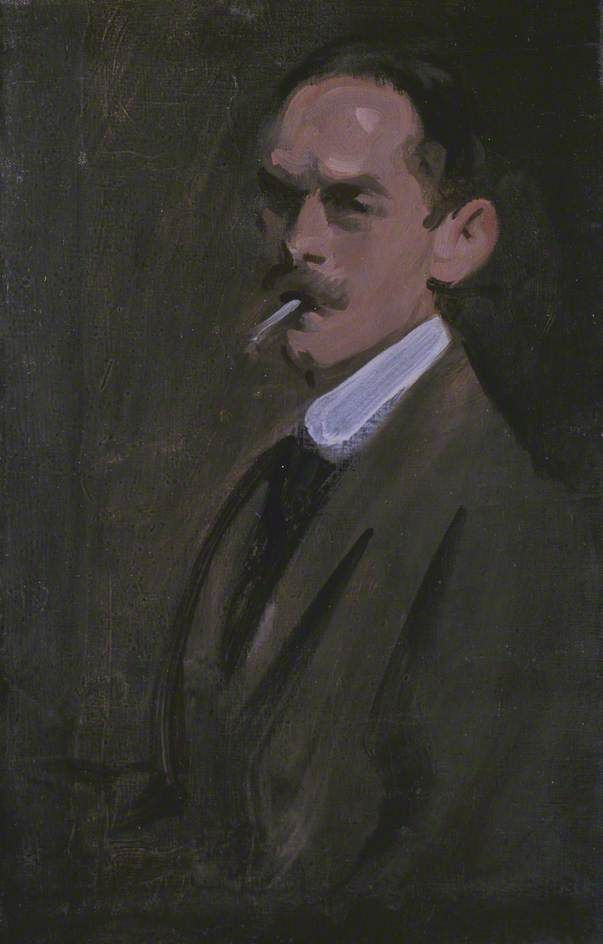 SAMUEL JOHN PEPLOE  Self-Portrait