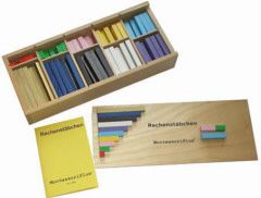 Montessori Rechenstäbchen