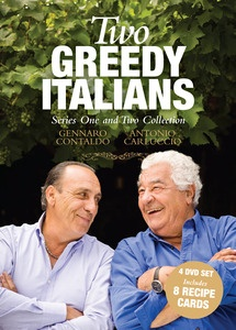 Two Greedy Italians Season 1 & 2 Collection. The kings of Italian cuisine Antonio Carluccio and Gennaro Contaldo return to Italy together to remember their own pasts and discover how the culinary capital of the world is changing the way it cooks and eats. $49.99