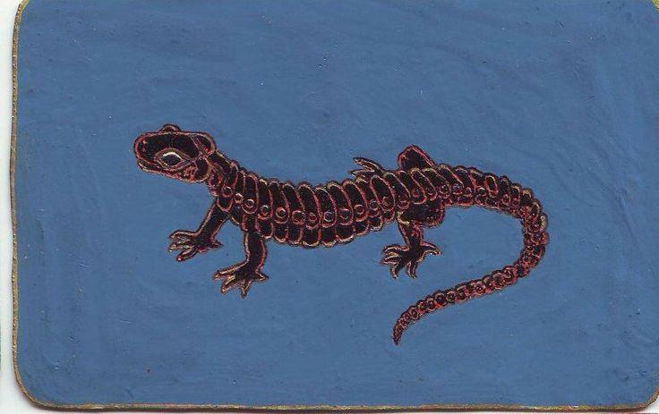 Fekete szalamander, egy nagyhatású, 2007 őszi álomban a Skorpió Mars analógiájaként jelent meg. Részben vas, részben élőlény volt, nagy erő sugárzott belőle.