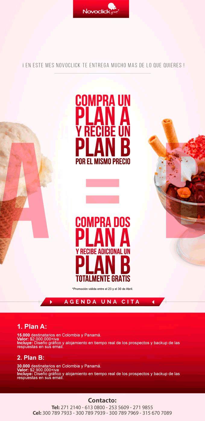 Adquiere una Campaña de Plan básico y Recibe una Campaña de plan Avanzado para que consigas clientes para Tu Empresa. Oferta válida hasta el 30 de Abril de 2015.
