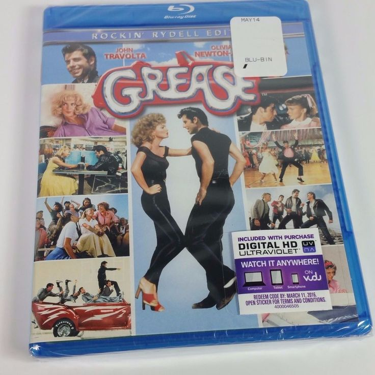 Grease Rockin' Rydell Edition Blu-ray with Digital HD NEW   ++FREE SHIPPING++ #Bluray #Grease #Musical