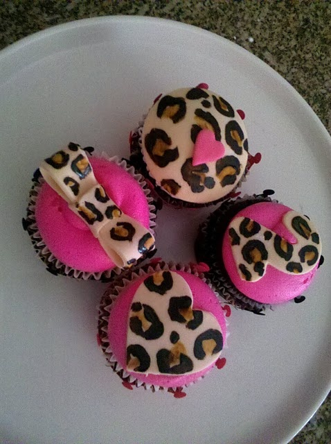 cupcakes pinterest leopards - photo #4