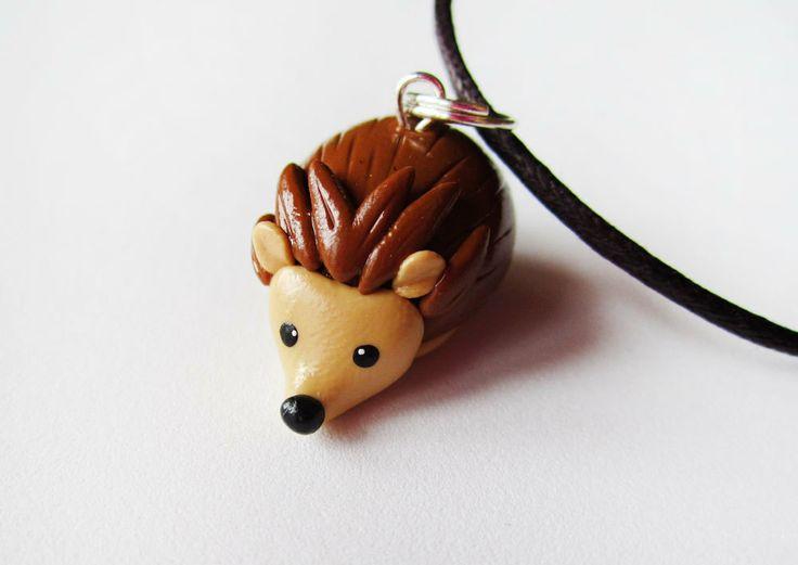 Polymer Clay Cute Hedgehog                                                                                                                                                                                 More