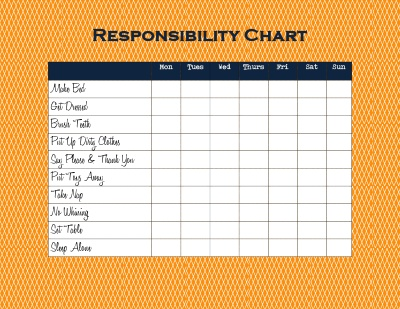 Sweet image intended for printable chore chart for 4 year old