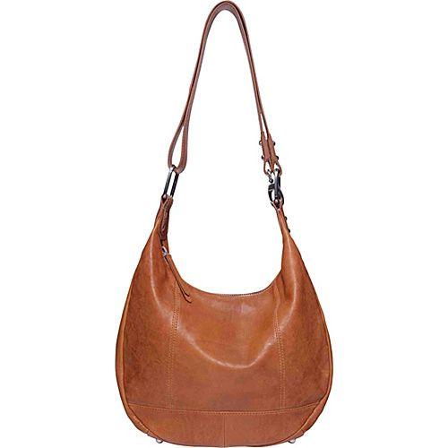 Ellington Handbags Eva Hobo Cognac - Ellington Handbags Leather Handbags