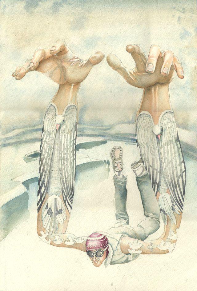 Super Fresh Watercolor Illustrations - My Modern Met