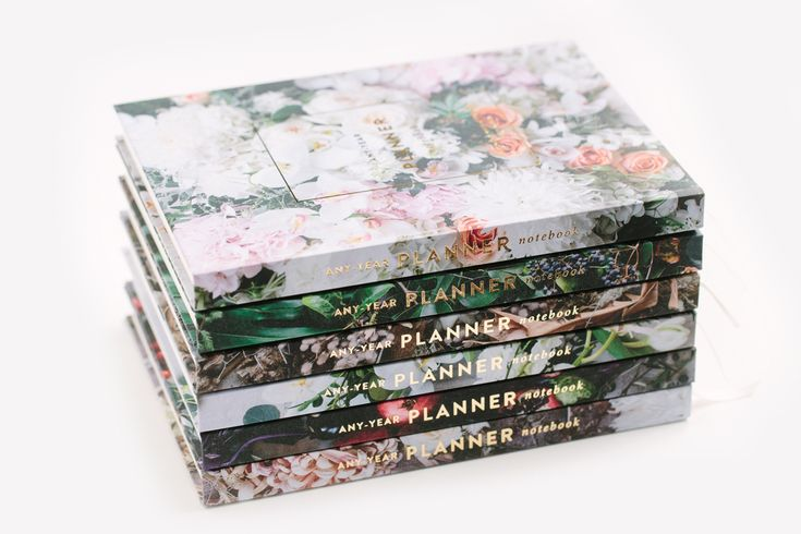 WKS's Beautiful Any-Year Planners / Notebooks