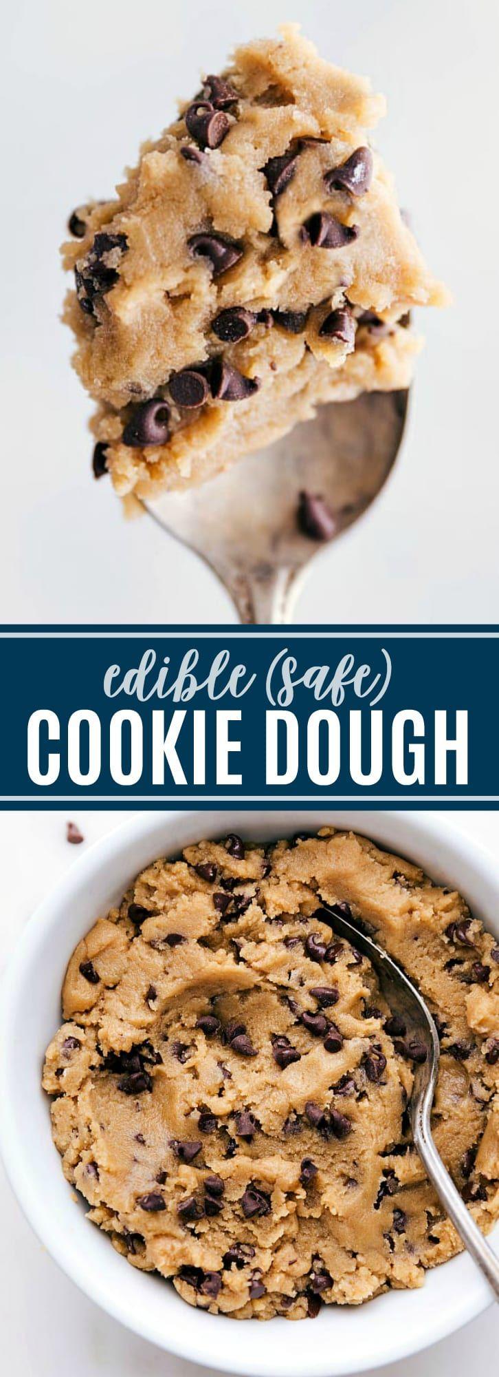 Une délicieuse pâte à biscuits comestible aux pépites de chocolat classique que vous pouvez …   – Rezepte
