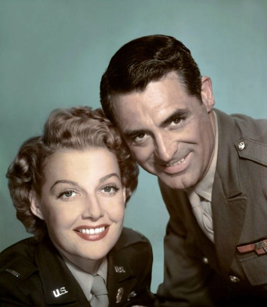 L for legends: Ann Sheridan & Cary Grant | I Was a Male War Bride