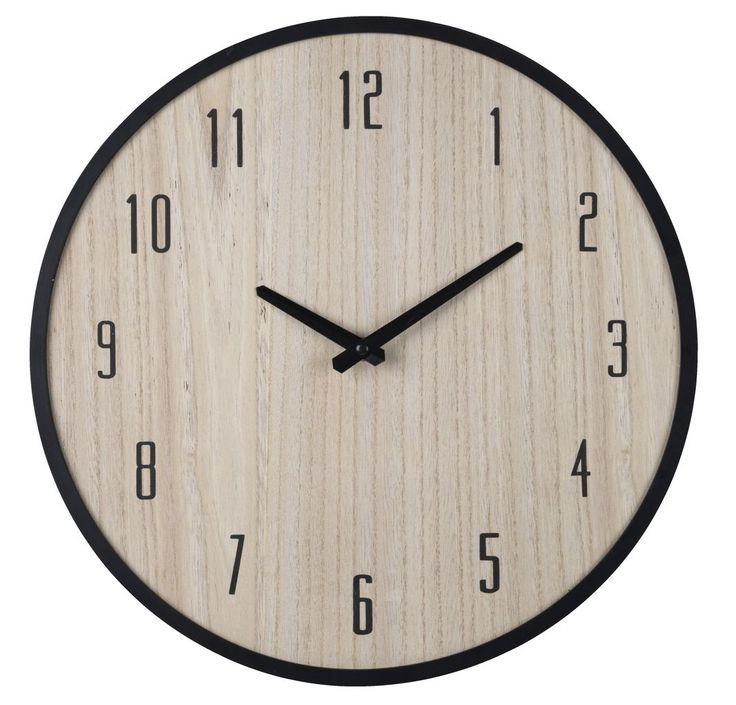 Ceasul de perete EJGIL, cu design scandinav și culori specifice interioarelor nordice,  | JYSK