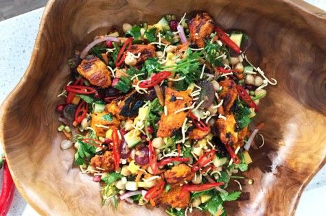 Bombay salad with Tandoori vinaigrette