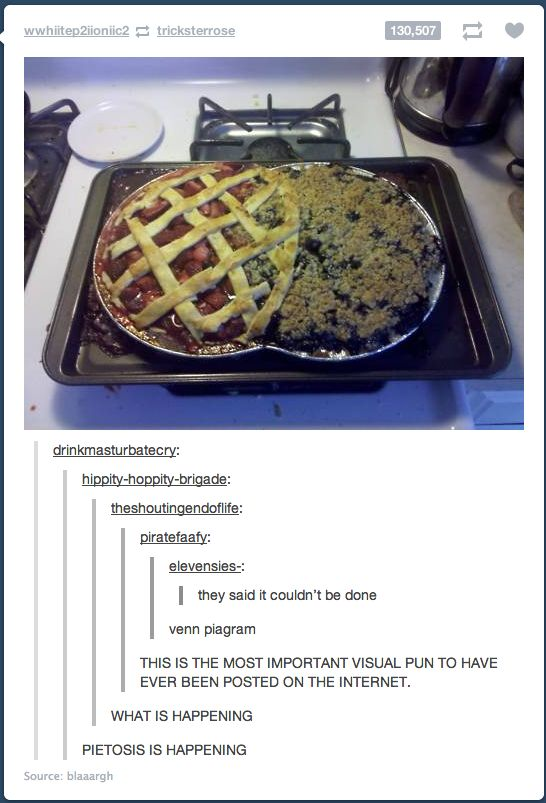 """""""Pietosis"""" Bahahahaha.  From Blaaargh on Imgur.  Want to try this with Apple & Strawberry Rhubarb!"""