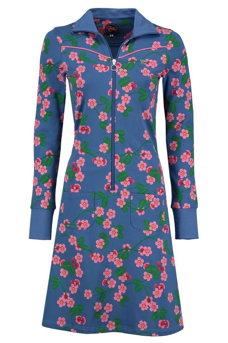 Dress Sporty Cherry Blossom Blue
