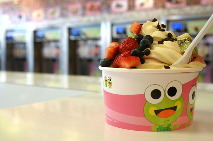 sweetFrog frozen yogurt is now located directly across the street from PHC in the Purcellville Gateway shopping center.