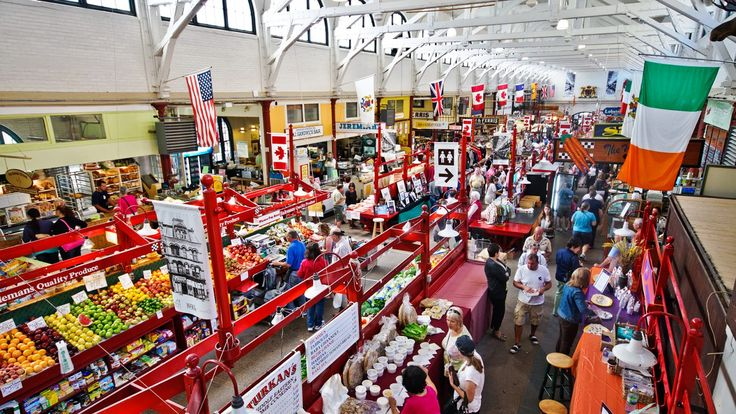 Saint John's City Market is a hub of activity in the Uptown.
